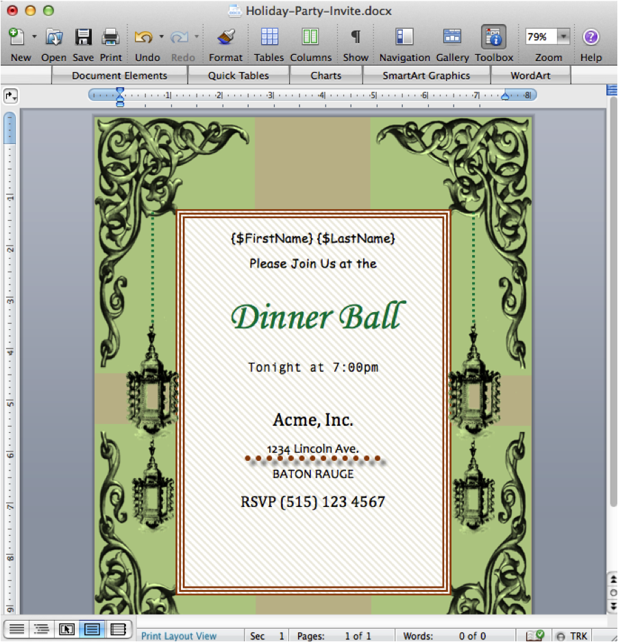 Create Invitation Template: Create Invitations From Google Forms And Spreadsheets With