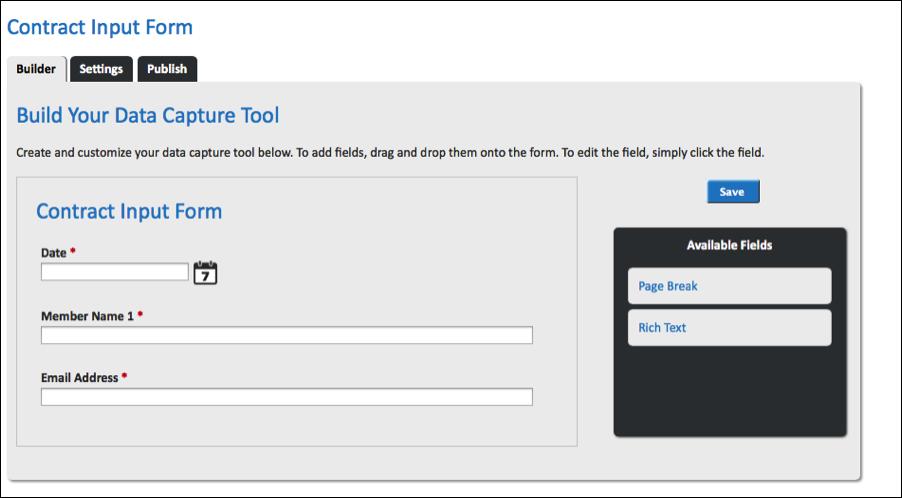 WebMerge Form Builder
